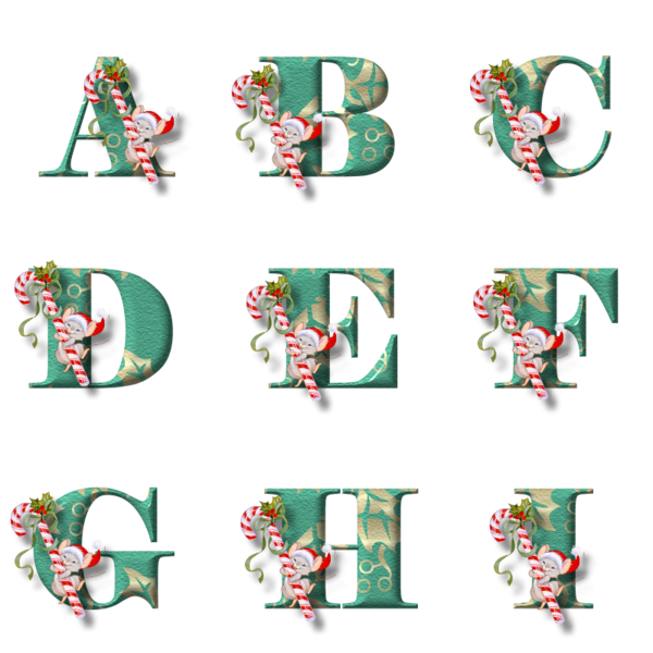 TUBES ALPHABETS