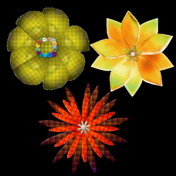 TUBES FLEURS (POUR SCRAP ET CREA)